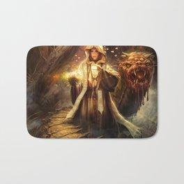 Wizard queen  Bath Mat