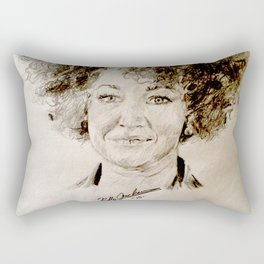 Rachel Dolezal Rectangular Pillow