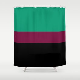 An Evening With Jade Shower Curtain