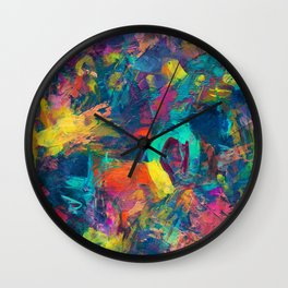 Tribute to color Wall Clock