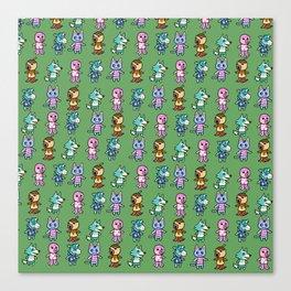 Animal Crossing Design 3 Canvas Print
