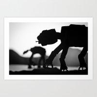 Imperial Walker Art Print