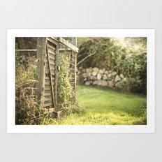 The Private Garden Art Print