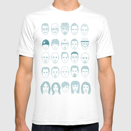 Breaking Bad all Faces T-shirt