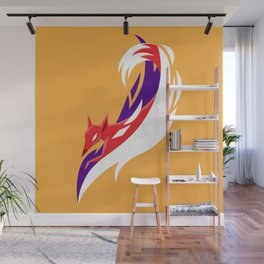 Here comes the fox Wall Mural