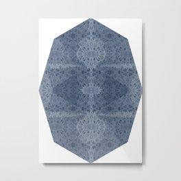 Mosaic dahlias Metal Print