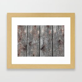 Wood 2 Framed Art Print