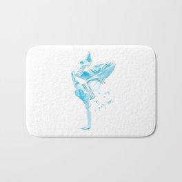 The Breakdancer Bath Mat
