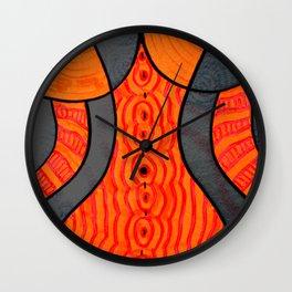 Curving Wall Clock