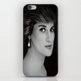 London Princess Diana iPhone Skin