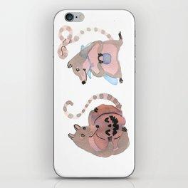 Coatis love Halloween iPhone Skin