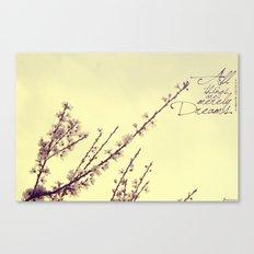 Merely Dreams Canvas Print