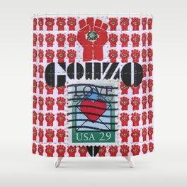 Gonzo Love Shower Curtain