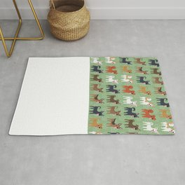 Formosan Mountain Dogs Rug