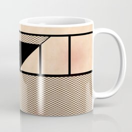 Fishnet Stockings and Black Knickers Coffee Mug
