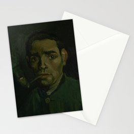 Head of a Man Stationery Cards