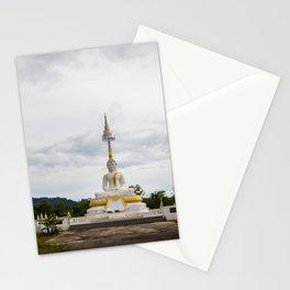 Thailand tempel Khao lak Stationery Cards