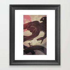 Rukh Framed Art Print