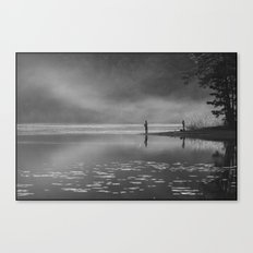 Any two boys - Fishing Canvas Print