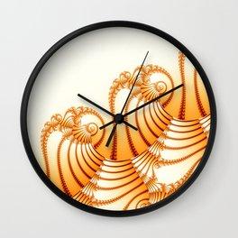 Sweet Fibonacci nautilus Wall Clock