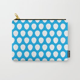 Balloon Pattern Pale Blue Carry-All Pouch