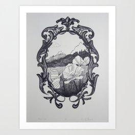Romanticized Art Print