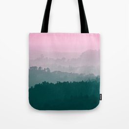 Love Mountains View Tote Bag