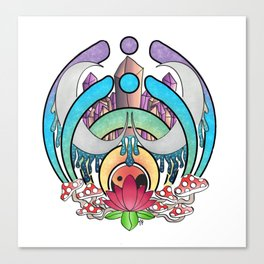 Trippy Nectar Canvas Print