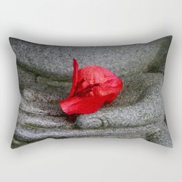 A Peace of Buddha in Photography Rectangular Pillow