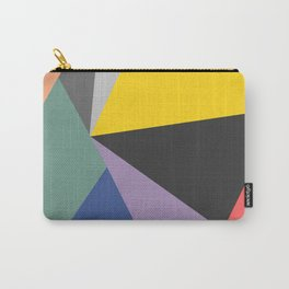 Vibrant Bohemian Geometric Shapes Carry-All Pouch