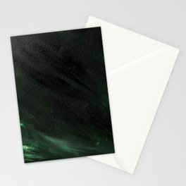 Black & Green Stationery Cards