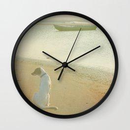 A dog´s life Wall Clock