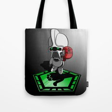 The Hitchhikers Guide to the Galactica Tote Bag
