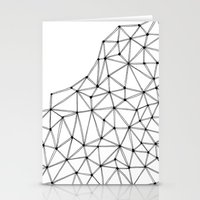 polygon Stationery Cards featuring Polygon by Boneva