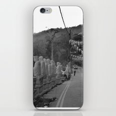 Buddhas on the Road iPhone & iPod Skin