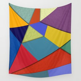 Abstract #207 Wall Tapestry