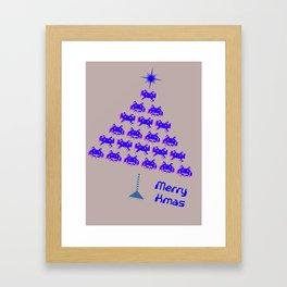 Let's invade for Christmas Framed Art Print