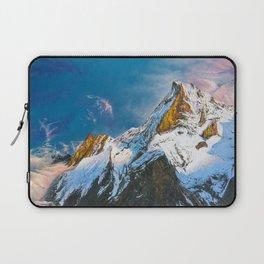 """Oil painting """"Mountain"""" Laptop Sleeve"""
