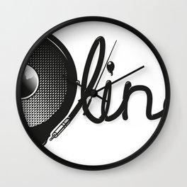 Bassline Wall Clock