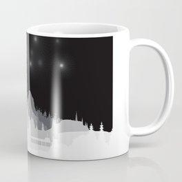 Fireworks at night. Coffee Mug