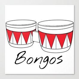 Bongos Canvas Print