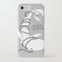 moby dick iPhone & iPod Cases featuring Moby Dick by Christiano Mere