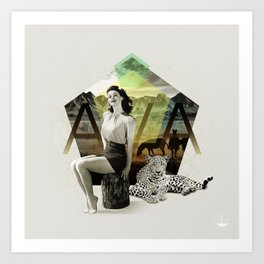 Divas: Ava Gardner. Art Print