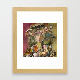 rOuNd aBoUt 5 pm Framed Art Print