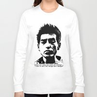 woodstock Long Sleeve T-shirts featuring Bob Dylan Things Have Changed by Fligo