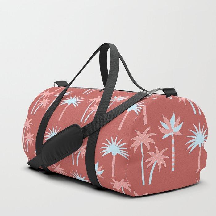 Palm Trees - Blue Desert Duffle Bag