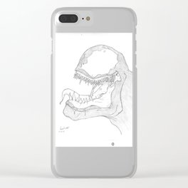 Venom Clear iPhone Case
