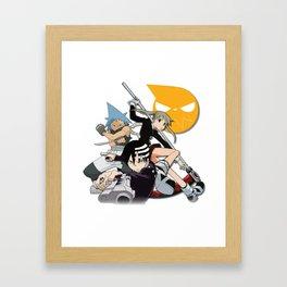 The Soul Eater Teams Framed Art Print