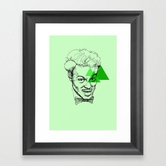 Chuck Berry Framed Art Print