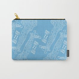 Giraffe in the Sky Carry-All Pouch